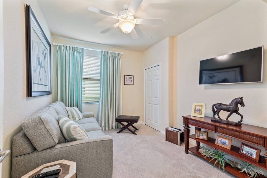Real Estate Photography - 28550 Carlow Ct 504, Bonita Springs, FL, 34135 - 3rd Bedroom