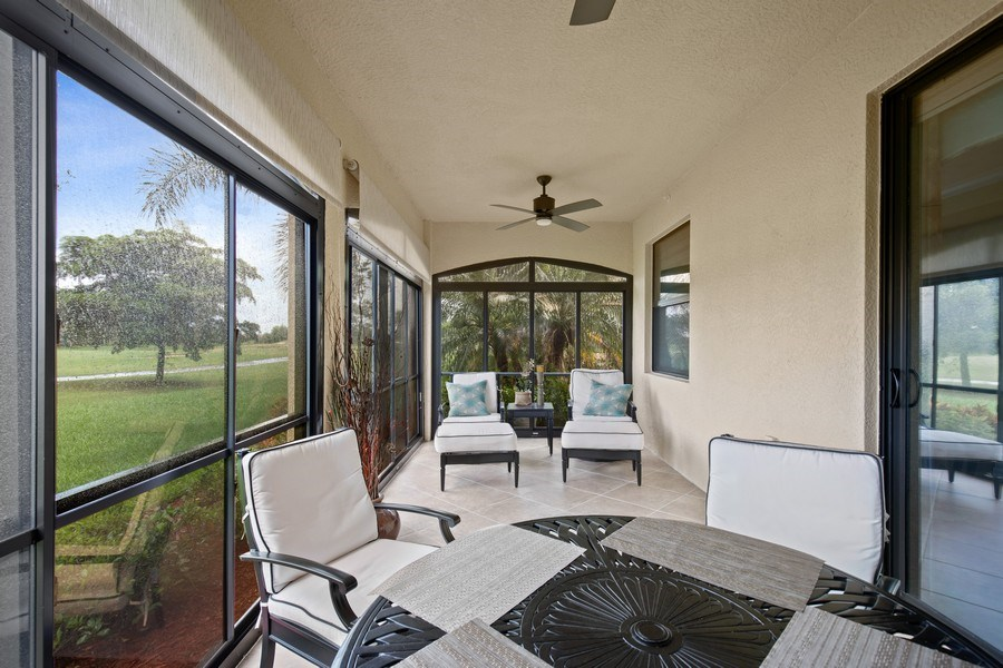 Real Estate Photography - 28550 Carlow Ct 504, Bonita Springs, FL, 34135 - Lanai