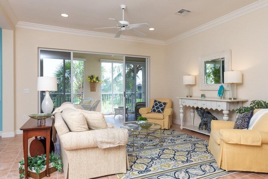 Real Estate Photography - 26916 Wyndhurst Ct. #201, Bonita Springs, FL, 34134 - Living Room