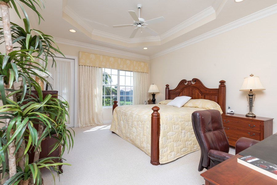 Real Estate Photography - 26916 Wyndhurst Ct. #201, Bonita Springs, FL, 34134 - Master Bedroom