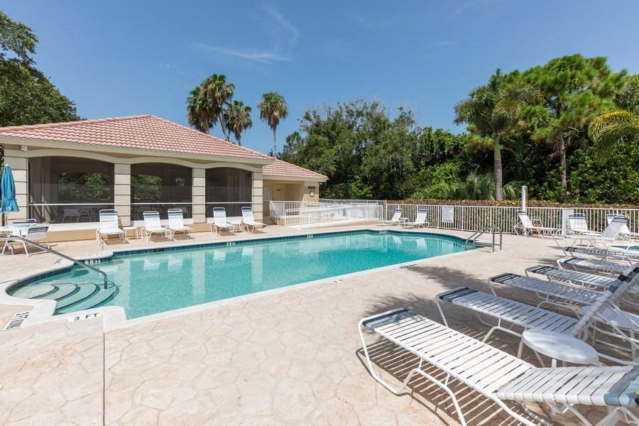 Real Estate Photography - 26916 Wyndhurst Ct. #201, Bonita Springs, FL, 34134 - Pool