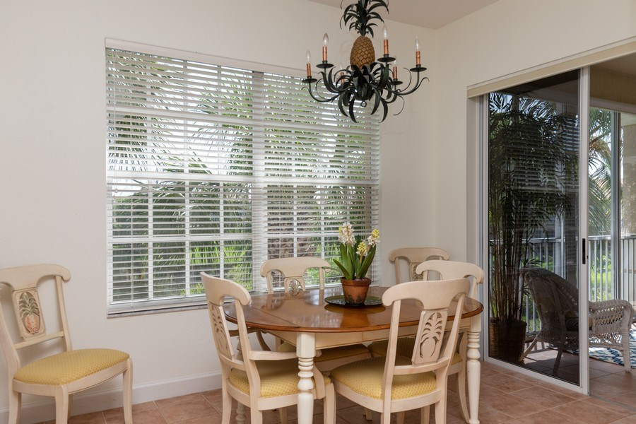 Real Estate Photography - 26916 Wyndhurst Ct. #201, Bonita Springs, FL, 34134 - Breakfast Area