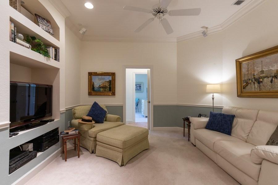 Real Estate Photography - 26916 Wyndhurst Ct. #201, Bonita Springs, FL, 34134 - Den
