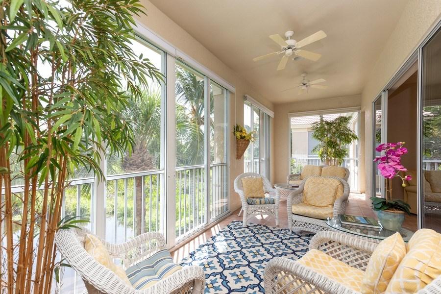 Real Estate Photography - 26916 Wyndhurst Ct. #201, Bonita Springs, FL, 34134 - Lanai