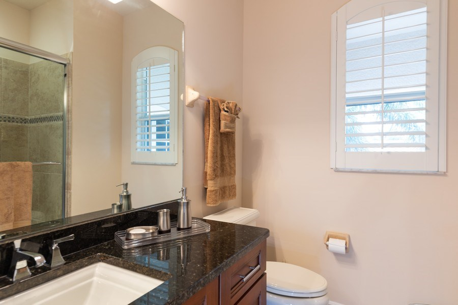 Real Estate Photography - 7856 Martino Circle, Naples, FL, 34112 - 4th Bathroom