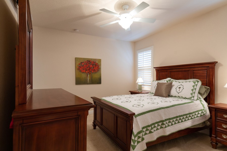 Real Estate Photography - 7856 Martino Circle, Naples, FL, 34112 - 2nd Bedroom