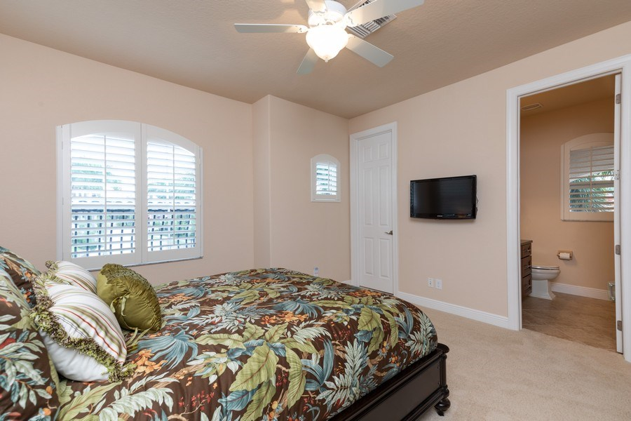 Real Estate Photography - 7856 Martino Circle, Naples, FL, 34112 - 3rd Bedroom