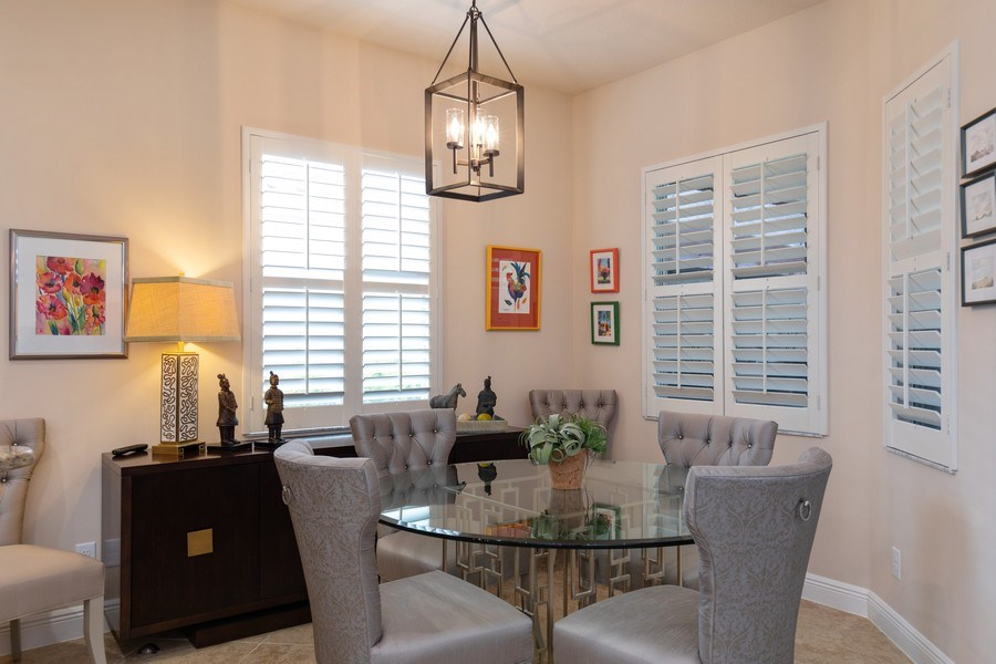 Real Estate Photography - 7856 Martino Circle, Naples, FL, 34112 - Breakfast Area