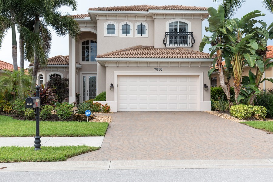 Real Estate Photography - 7856 Martino Circle, Naples, FL, 34112 - Front View