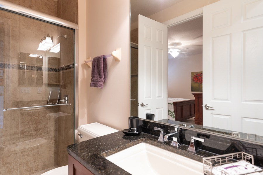 Real Estate Photography - 7856 Martino Circle, Naples, FL, 34112 - 2nd Bathroom