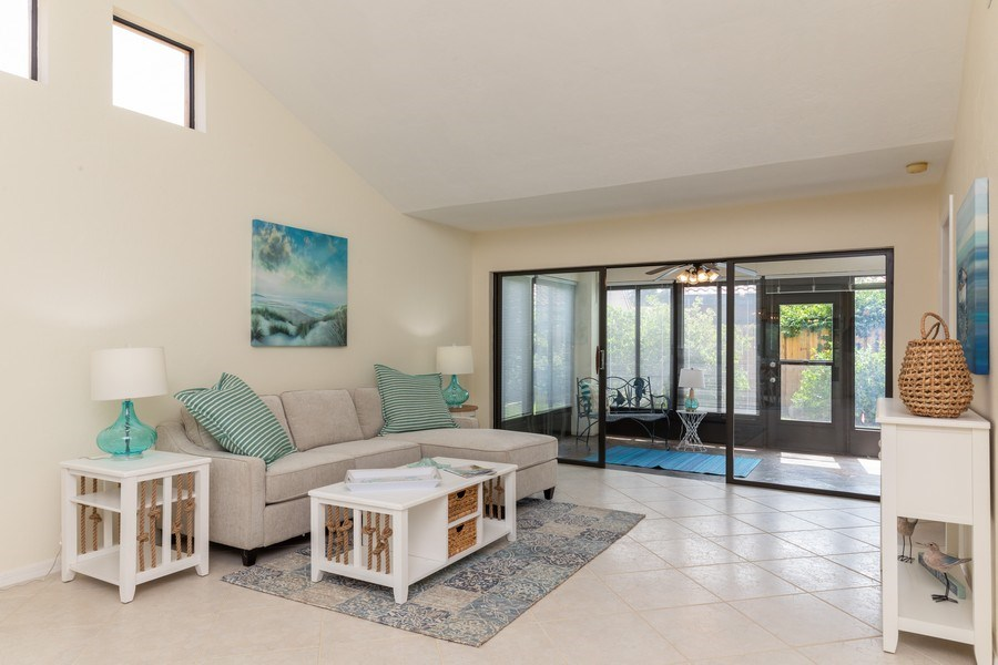 Real Estate Photography - 833 Reef Point Circle, Naples, FL, 34108 - Living Room