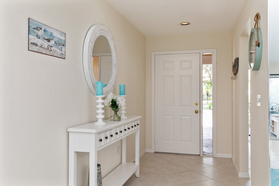 Real Estate Photography - 833 Reef Point Circle, Naples, FL, 34108 - Foyer