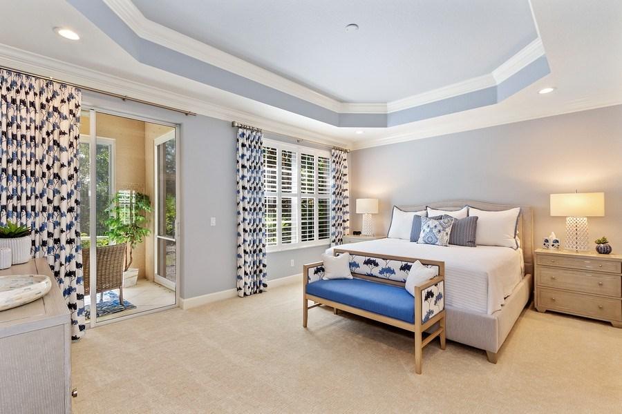 Real Estate Photography - 23751 Merano Ct, Unit 101, Bonita Springs, FL, 34134 - Master Bedroom