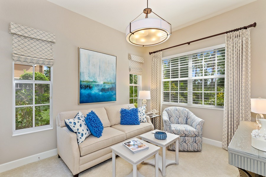 Real Estate Photography - 23751 Merano Ct, Unit 101, Bonita Springs, FL, 34134 - 2nd Bedroom