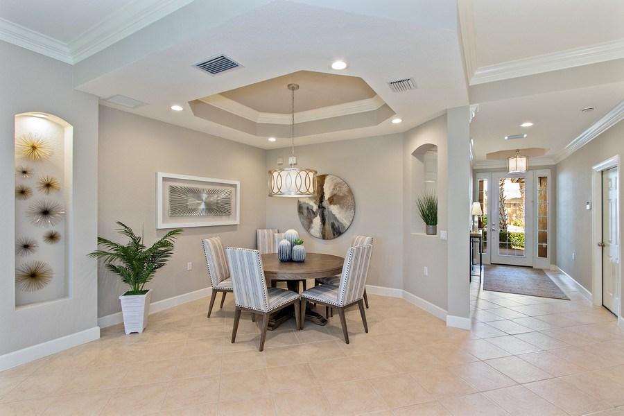 Real Estate Photography - 23751 Merano Ct, Unit 101, Bonita Springs, FL, 34134 - Dining Room