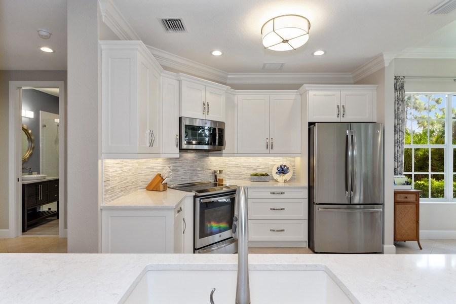 Real Estate Photography - 23751 Merano Ct, Unit 101, Bonita Springs, FL, 34134 - Kitchen