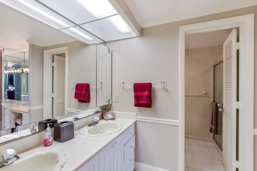 Real Estate Photography - 4031 Gulf Shore Blvd, N PH2D, Naples, FL, 34103 - Master Bathroom