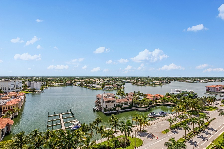 Real Estate Photography - 4031 Gulf Shore Blvd, N PH2D, Naples, FL, 34103 - View