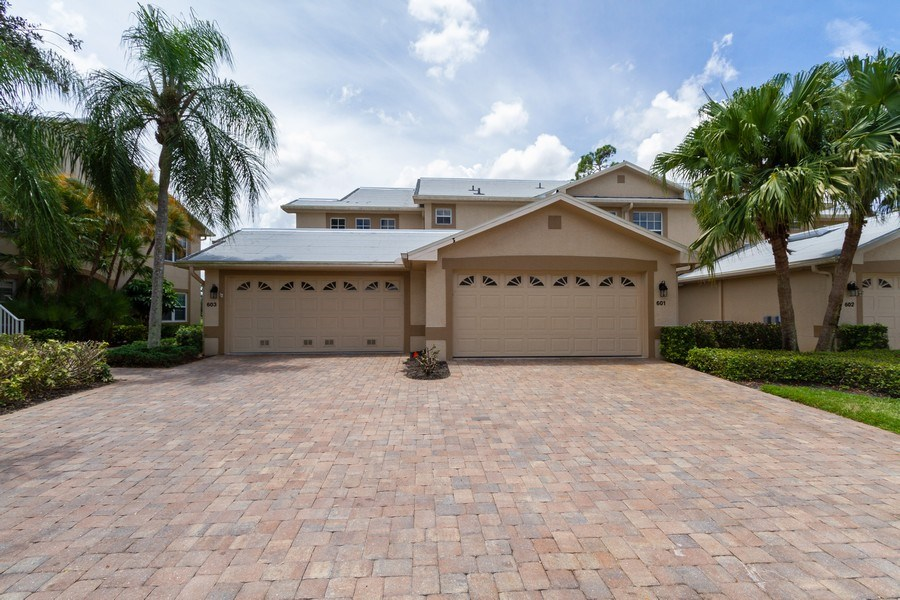 Real Estate Photography - 5637 Whisperwood Blvd #603, Naples, FL, 34110 - Front View