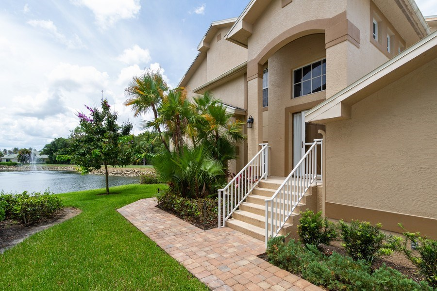 Real Estate Photography - 5637 Whisperwood Blvd #603, Naples, FL, 34110 - Entryway