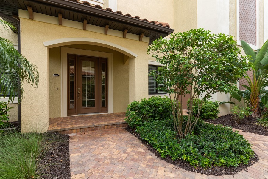 Real Estate Photography - 4600 Colony Villa, Unit 1301, Bonita Springs, FL, 34135 - Entrance