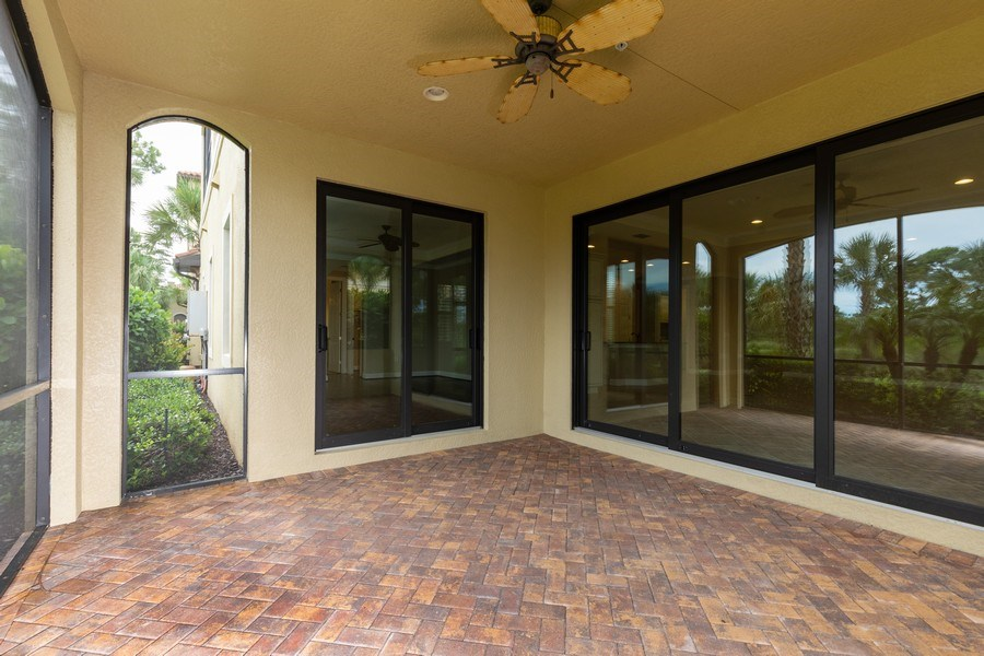 Real Estate Photography - 4600 Colony Villa, Unit 1301, Bonita Springs, FL, 34135 - Lanai