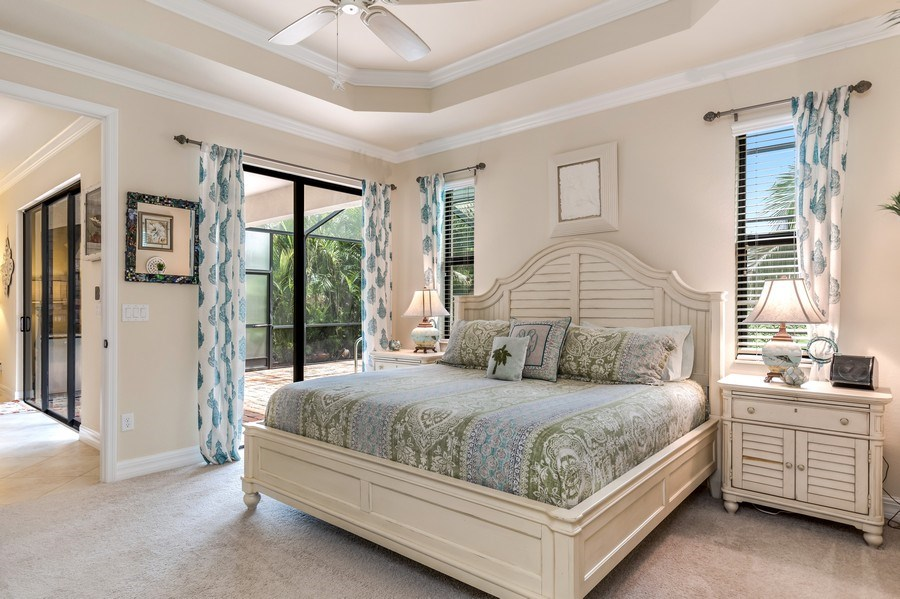 Real Estate Photography - 28537 Westmeath ct, Bonita Springs, FL, 34235 - Master Bedroom