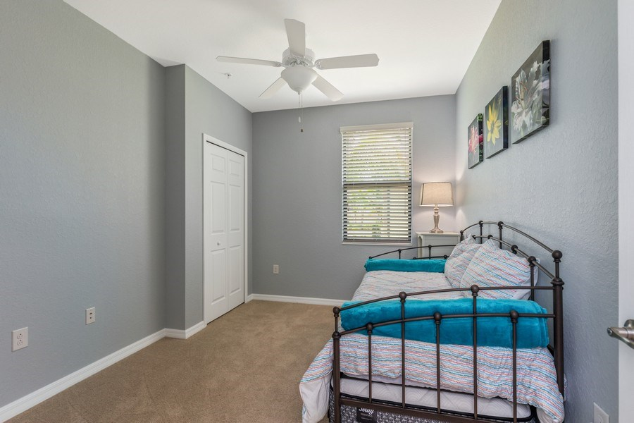 Real Estate Photography - 28021 Cookstown Ct, Unit 3601, Bonita Springs, FL, 34135 - 2nd Bedroom
