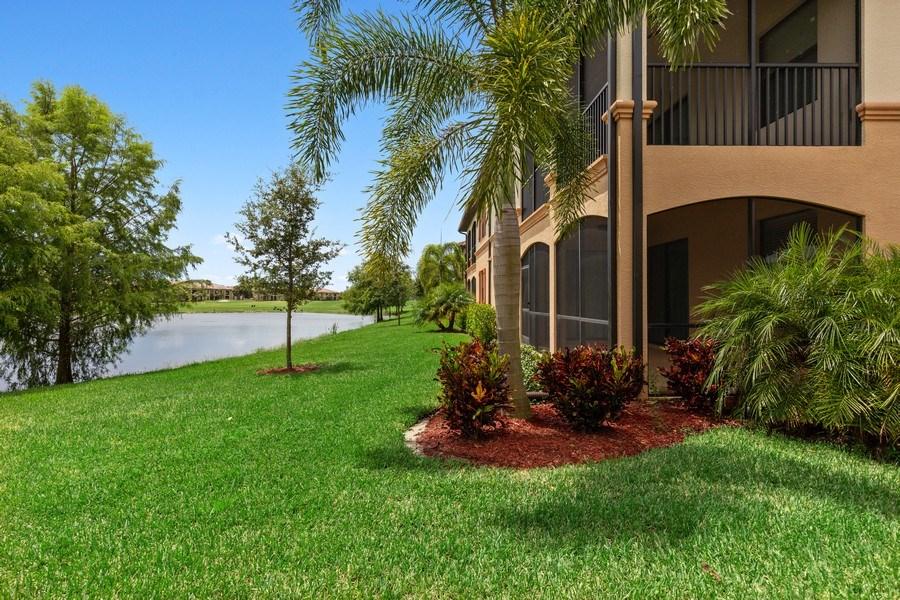 Real Estate Photography - 28021 Cookstown Ct, Unit 3601, Bonita Springs, FL, 34135 - Rear View