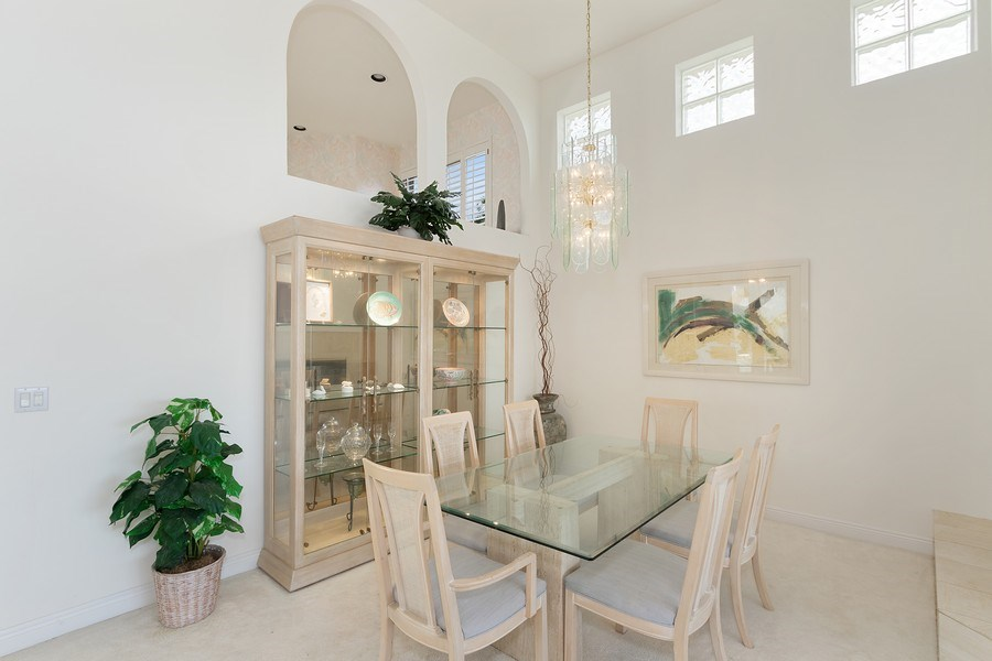 Real Estate Photography - 4240 Sanctuary Way, Bonita Springs, FL, 34134 - Dining Room