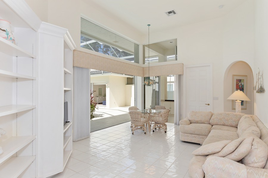 Real Estate Photography - 4240 Sanctuary Way, Bonita Springs, FL, 34134 - Family Room