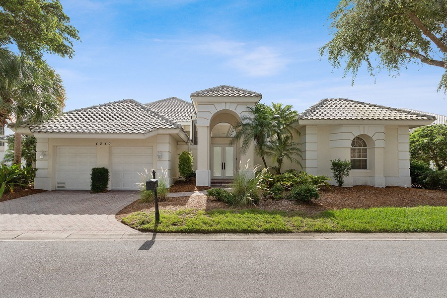 Real Estate Photography - 4240 Sanctuary Way, Bonita Springs, FL, 34134 - Front View