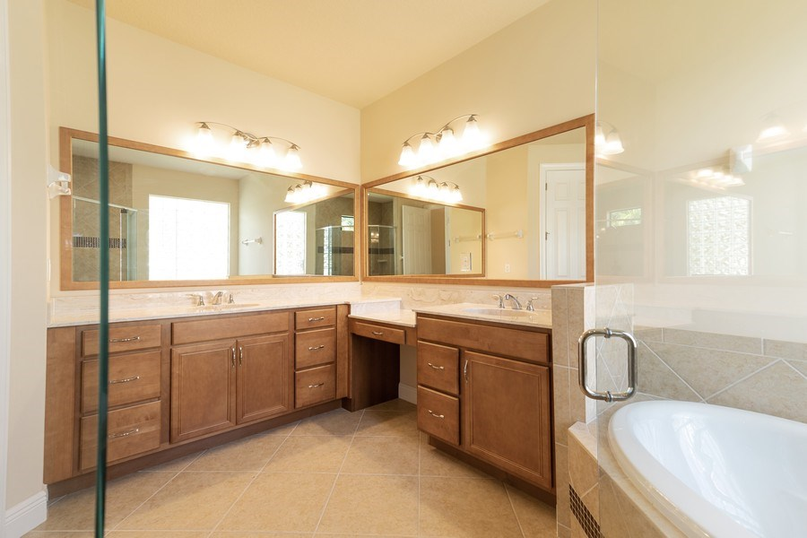 Real Estate Photography - 23472 SANABRIA LOOP, BONITA SPRINGS, FL, 34135 - Master Bathroom