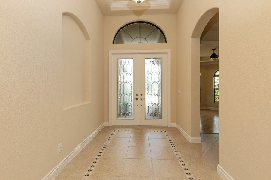 Real Estate Photography - 23472 SANABRIA LOOP, BONITA SPRINGS, FL, 34135 - Foyer