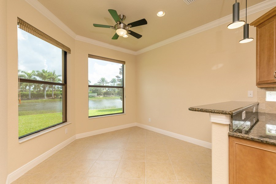 Real Estate Photography - 23472 SANABRIA LOOP, BONITA SPRINGS, FL, 34135 - Breakfast Area