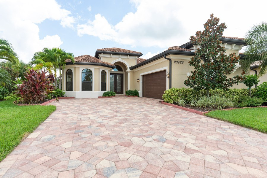 Real Estate Photography - 23472 SANABRIA LOOP, BONITA SPRINGS, FL, 34135 - Front View