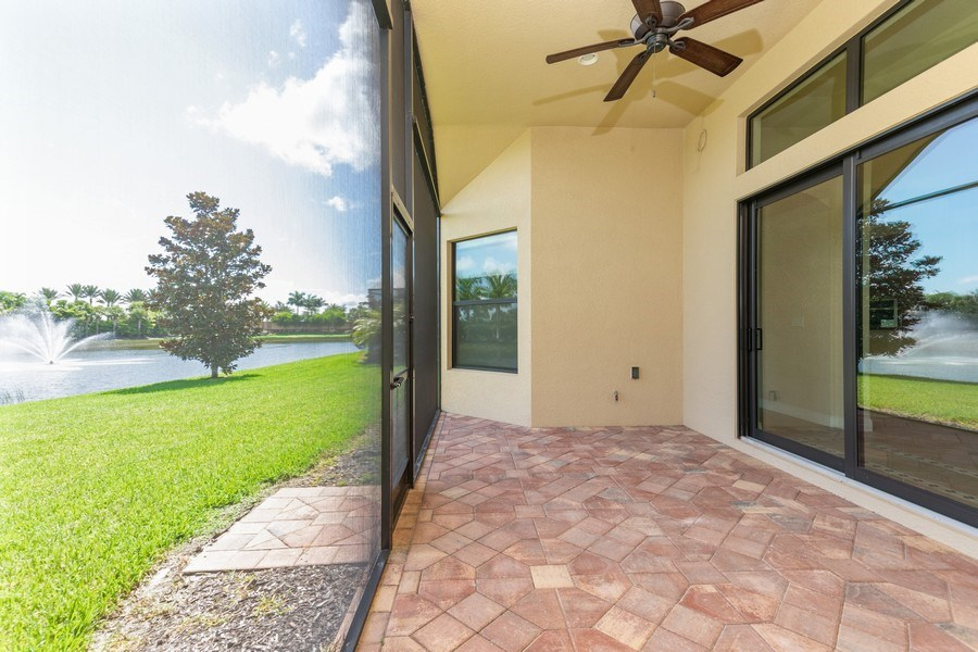 Real Estate Photography - 23472 SANABRIA LOOP, BONITA SPRINGS, FL, 34135 - Lanai