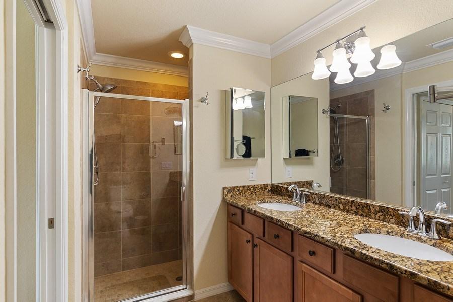 Real Estate Photography - 17970 BONITA NATIONAL BLVD, 1815, BONITA SPRINGS, FL, 34135 - Master Bathroom