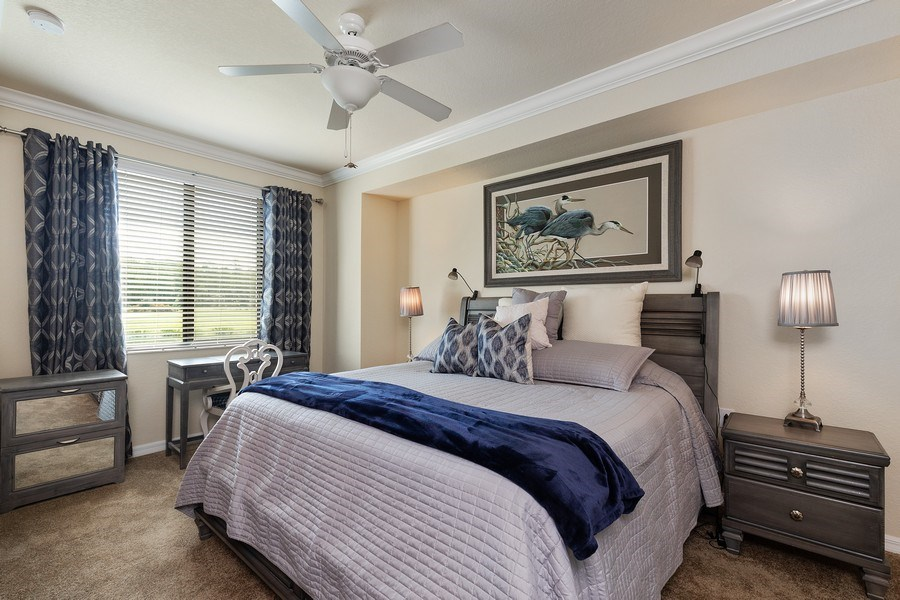 Real Estate Photography - 17970 BONITA NATIONAL BLVD, 1815, BONITA SPRINGS, FL, 34135 - Master Bedroom