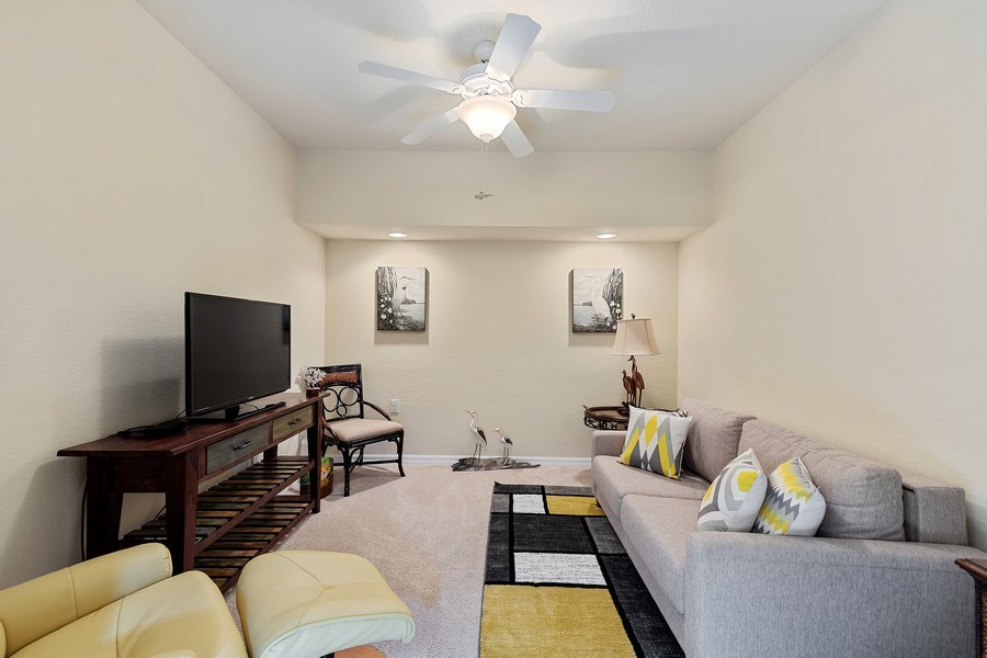 Real Estate Photography - 17970 BONITA NATIONAL BLVD, 1815, BONITA SPRINGS, FL, 34135 - Den