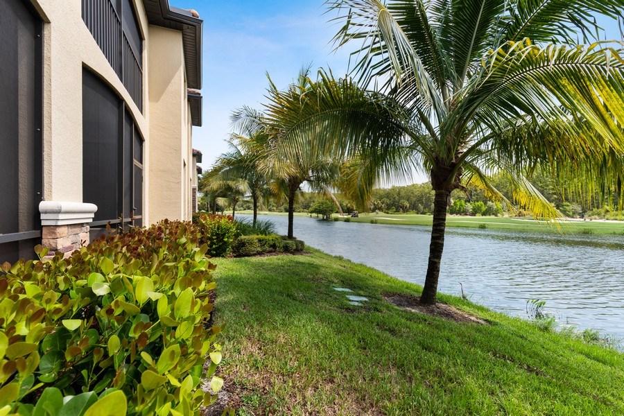 Real Estate Photography - 17970 BONITA NATIONAL BLVD, 1815, BONITA SPRINGS, FL, 34135 - Rear View