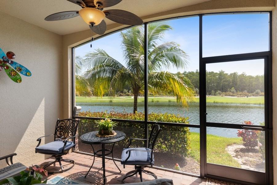 Real Estate Photography - 17970 BONITA NATIONAL BLVD, 1815, BONITA SPRINGS, FL, 34135 - Lanai