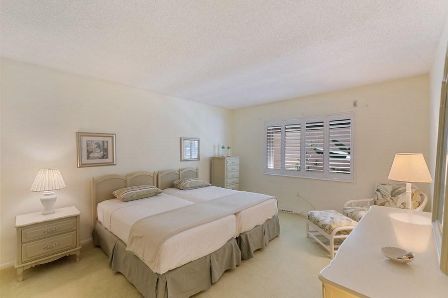 Real Estate Photography - 1930 Gulf Shore Blvd N, B201, Naples, FL, 34102 - Master Bedroom