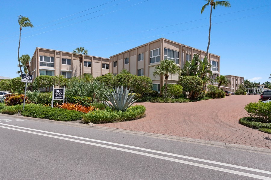 Real Estate Photography - 1930 Gulf Shore Blvd N, B201, Naples, FL, 34102 - Front View