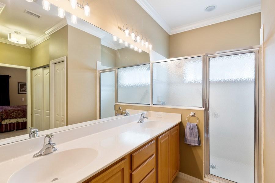 Real Estate Photography - 216 Glen Eagle Circle, Naples, FL, 34104 - Master Bathroom