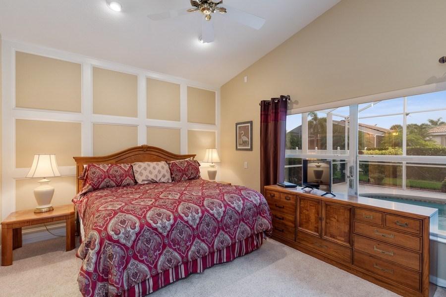 Real Estate Photography - 216 Glen Eagle Circle, Naples, FL, 34104 - Master Bedroom