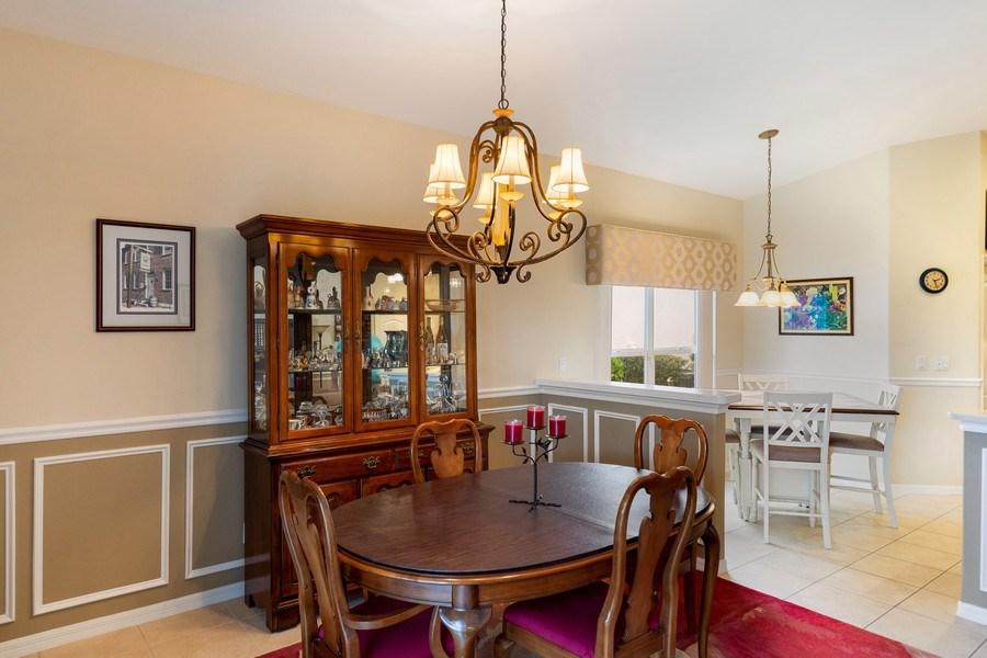 Real Estate Photography - 216 Glen Eagle Circle, Naples, FL, 34104 - Dining Area