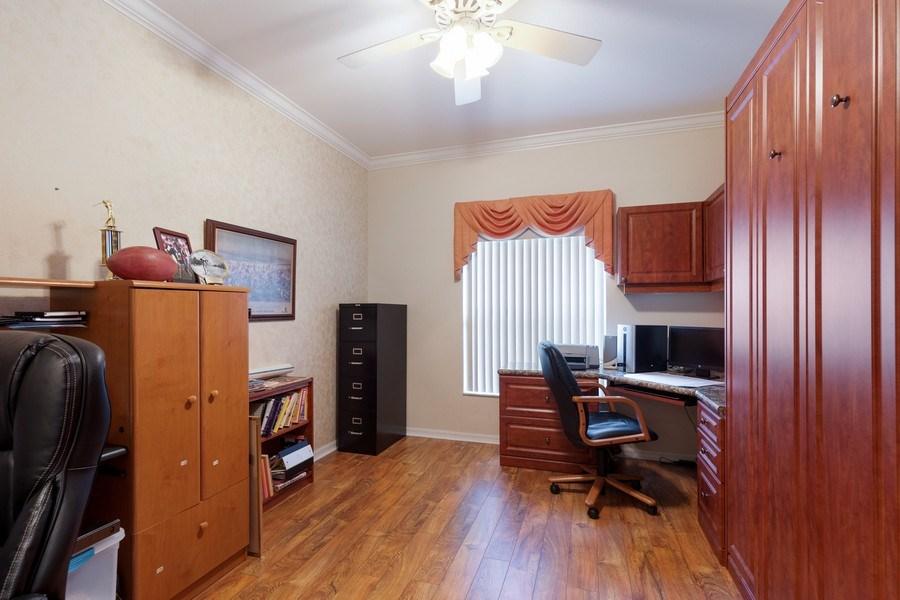 Real Estate Photography - 216 Glen Eagle Circle, Naples, FL, 34104 - Den