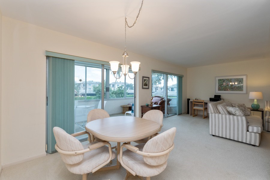 Real Estate Photography - 3410 Gulf Shore Blvd N, 202, Naples, FL, 34103 - Dining