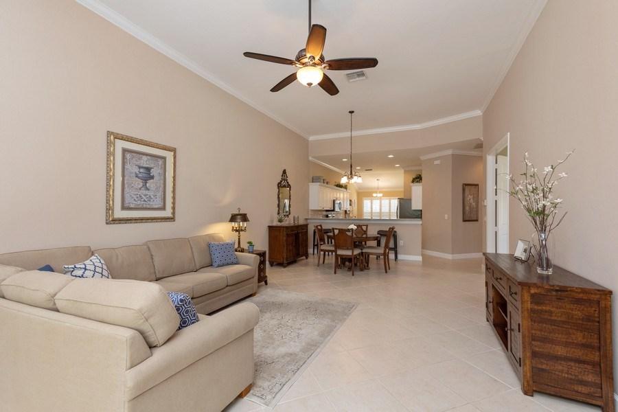 Real Estate Photography - 5892 Northridge Dr, Naples, FL, 34110 - Living Room
